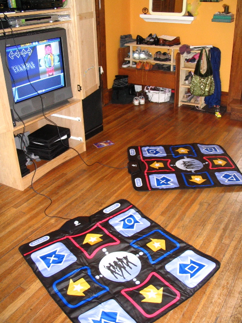 two ddr pads
